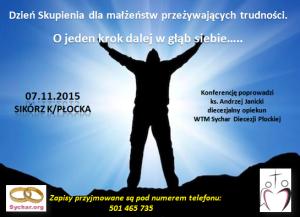 Dzień Skupienia Włocławek - plakat