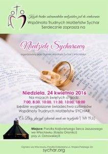 niedziela sycharowa plakat